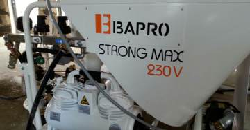 zdjęcie new technology plastering machine type BAPRO one STRONG MAX innovation solution